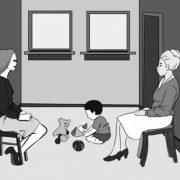 Una original ilustración que pondrá a prueba sus instintos de madre