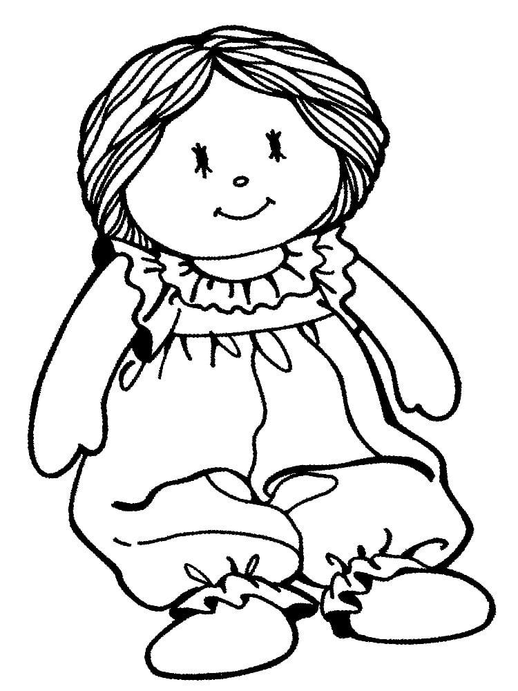 27 Dibujos De Muñeca Para Colorear Y Imprimir Gratis Online