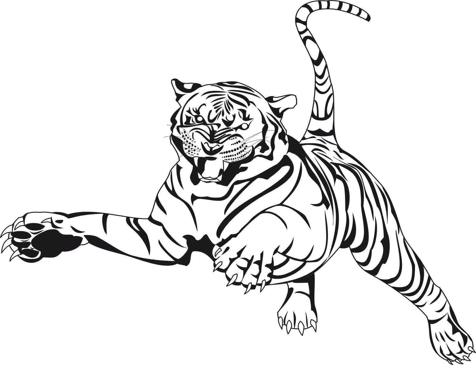 Dibujos Para Pintar De Animales Salvajes