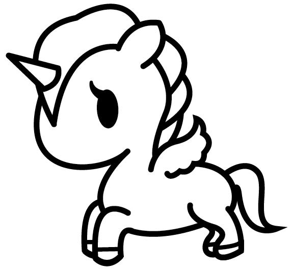 Fotos Para Pintar De Unicornios