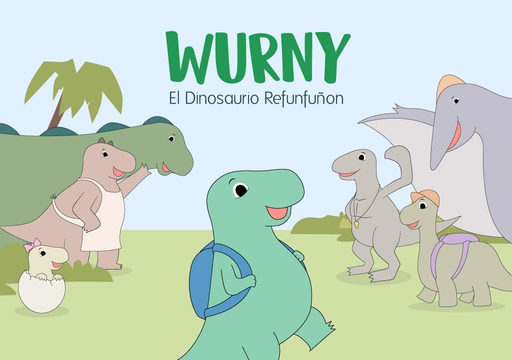 Wurny, el Dinosaurio Refunfuñón
