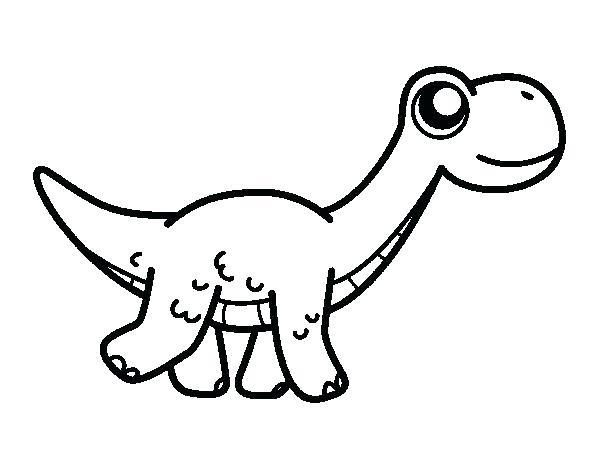 Dibujos Animados De Dinosarios Para Colorear