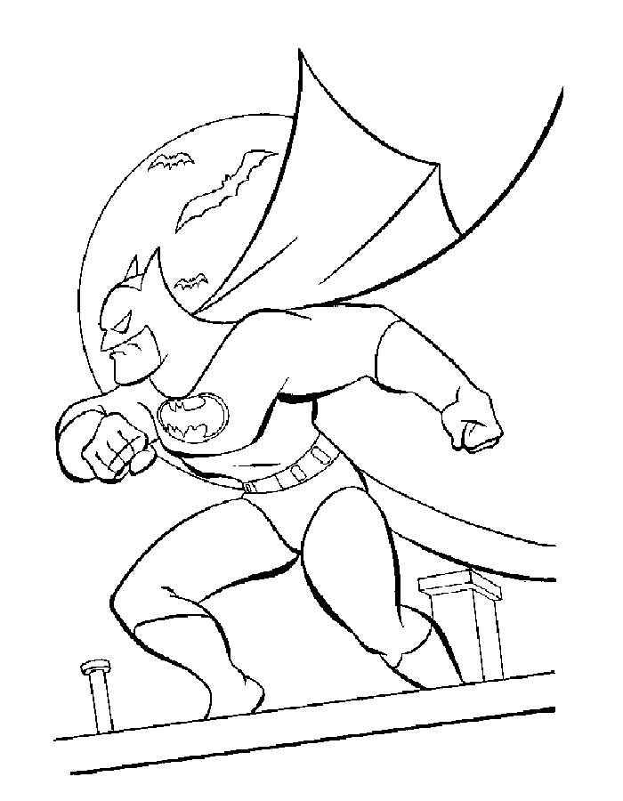 Dibujos De Batman Para Colorear E Imprimir Gratis