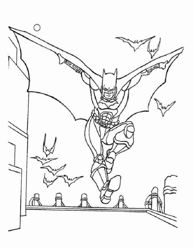 Dibujos De Batman Para Imprimir Y Colorear Gratis