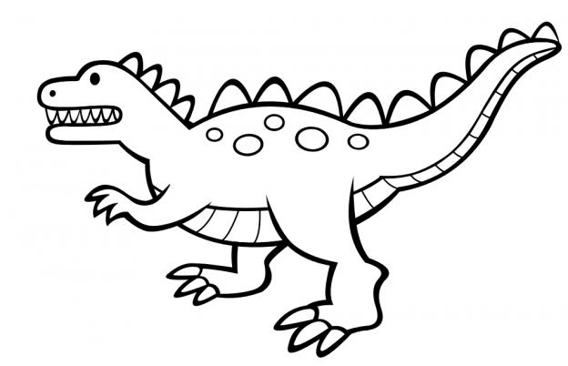 Dibujos De Dinosario Para Colorear