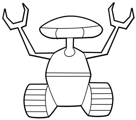 Dibujos De Robot Para Colorear Gratis