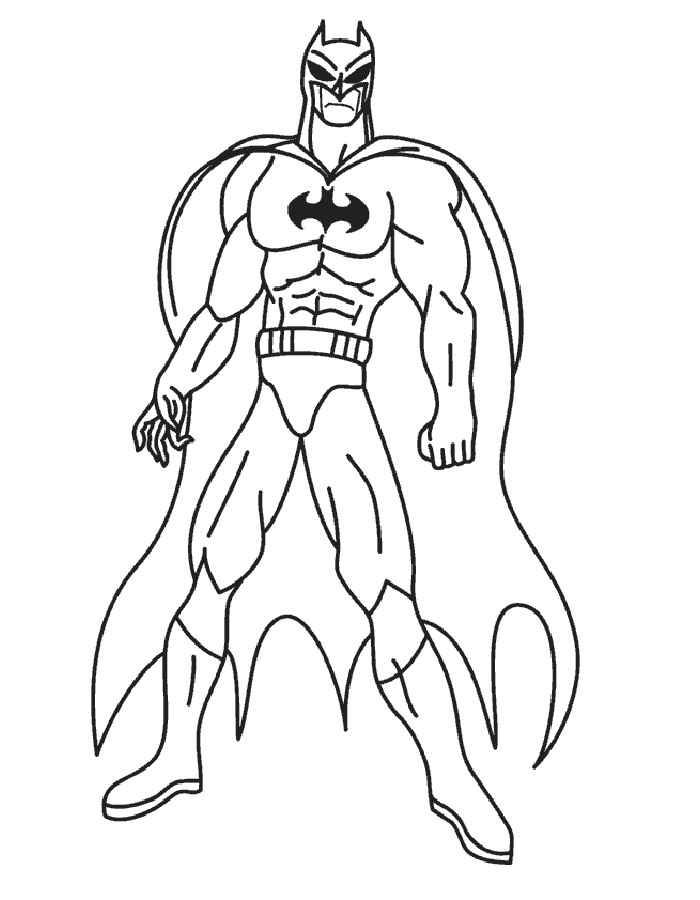 Dibujos Del Coche De Batman Para Colorear