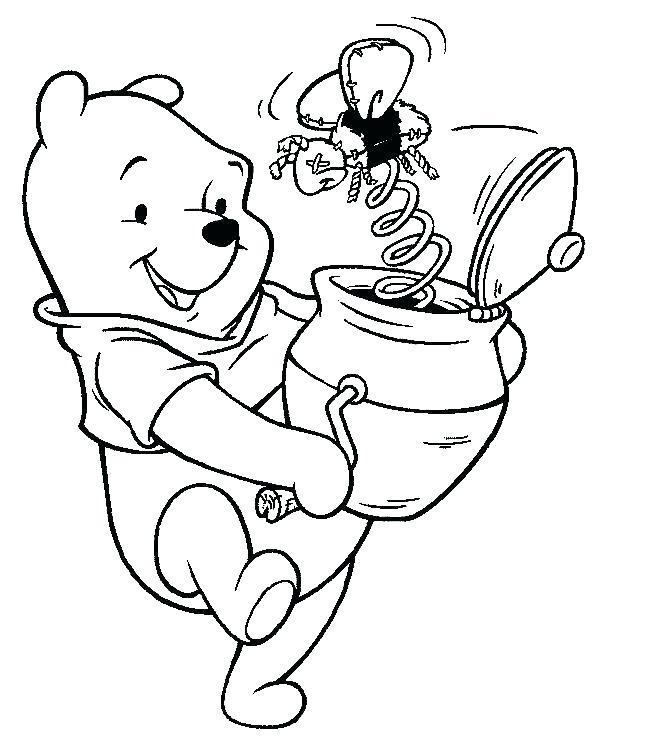 Dibujos Para Colorear De Winnie The Pooh