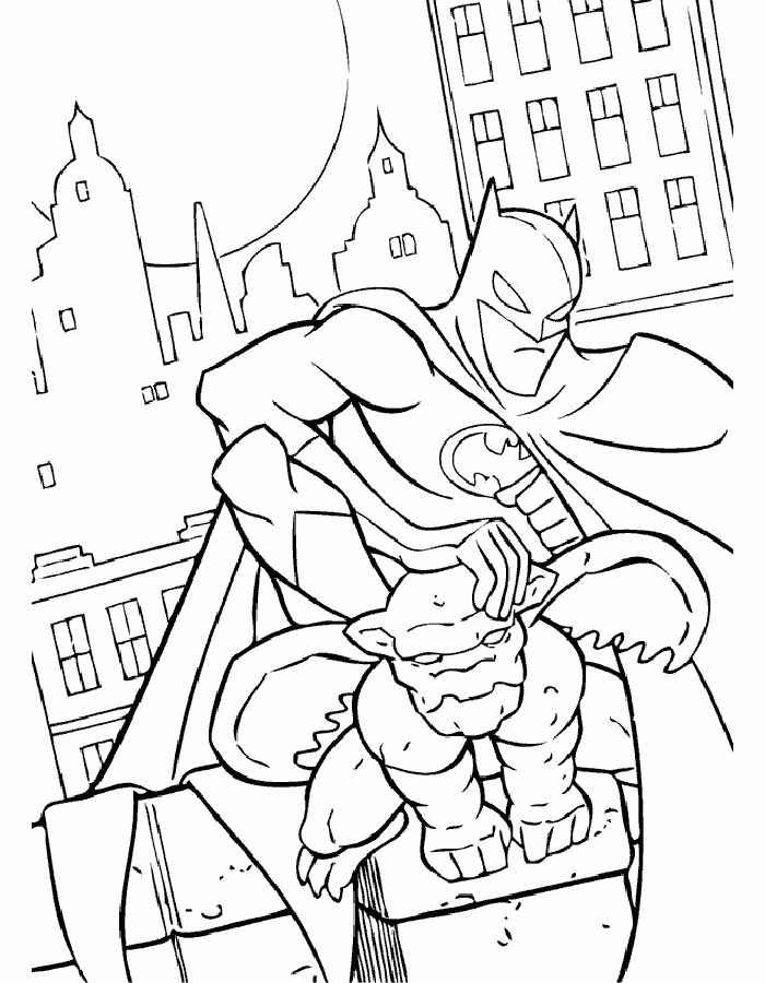 Dibujos Para Colorear De Batman Gratis