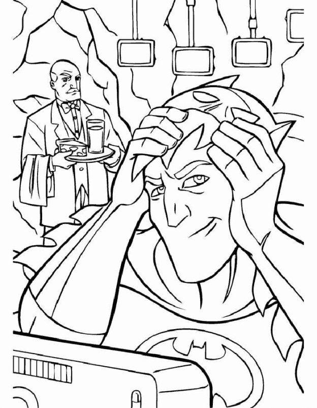 Dibujos Para Colorear De Batman Para Imprimir
