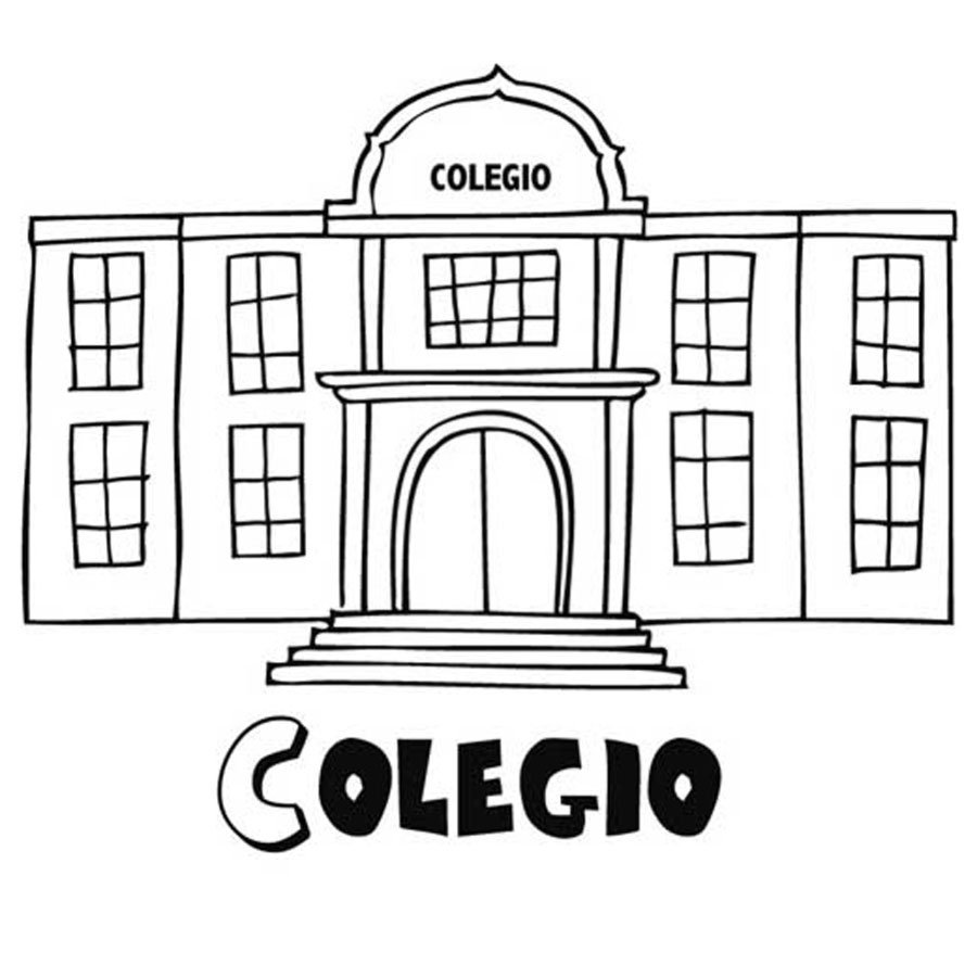 Dibujos Para Colorear De Colegios Gratis