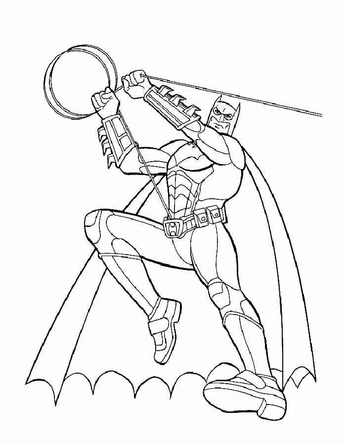 Dibujos Para Colorear De Niños Batman