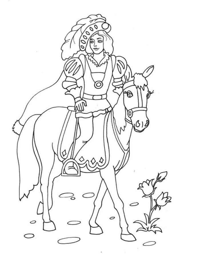 Dibujos Para Colorear De Principes