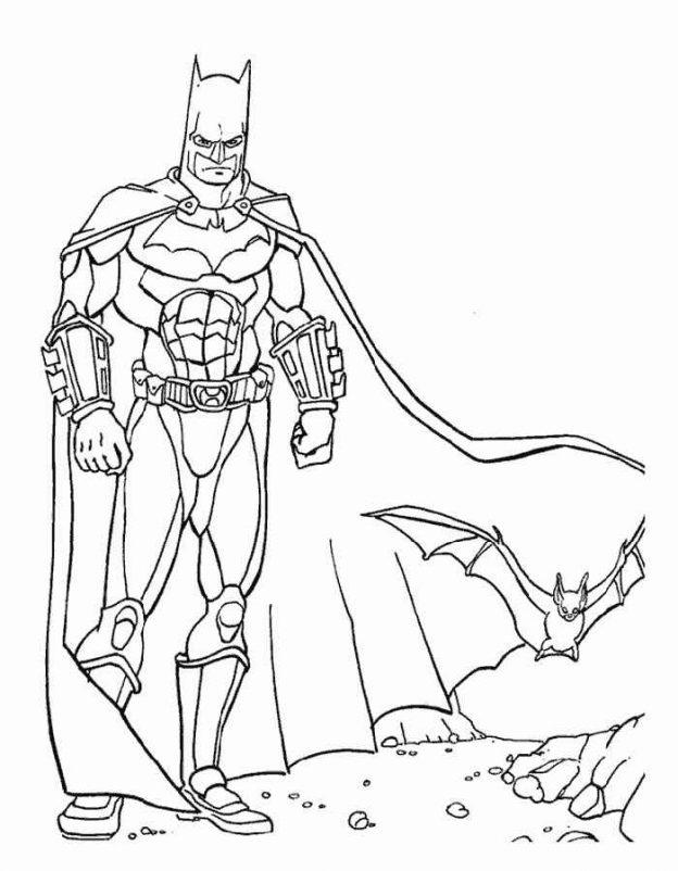 Dibujos Para Colorear De Superman Y Batman