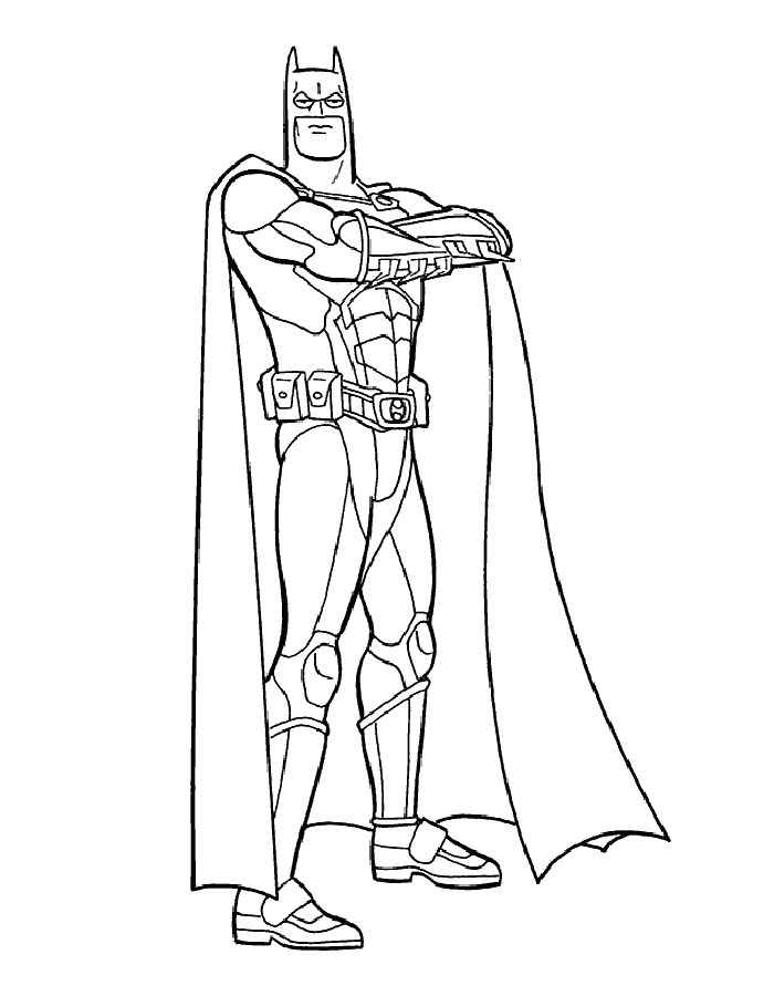 Dibujos Para Colorear E Imprimir De Batman