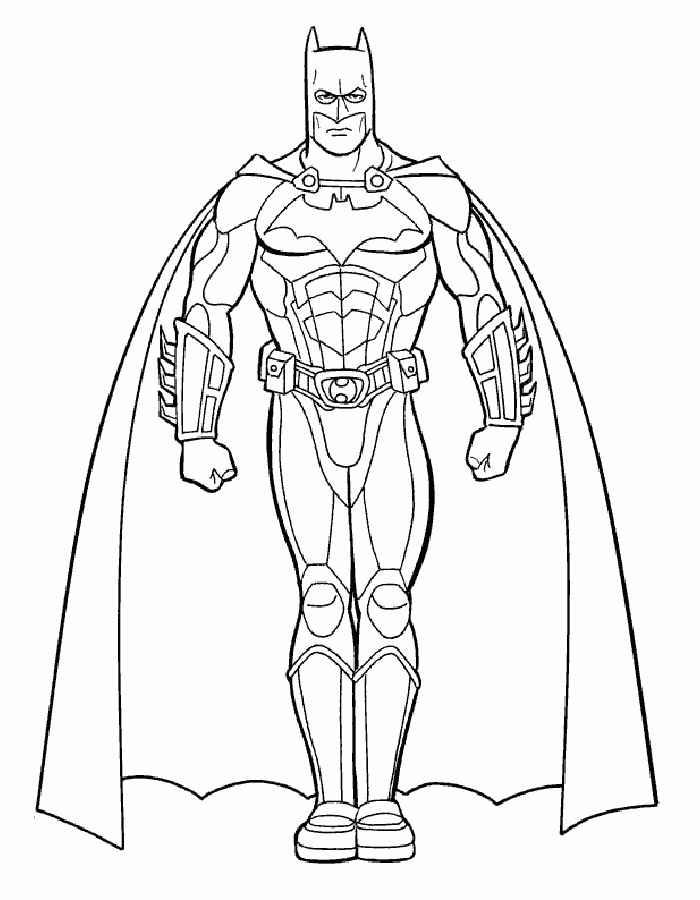 Dibujos Para Colorear Logo Batman