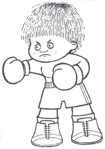 Dibujos Para Colorear Niños Animados