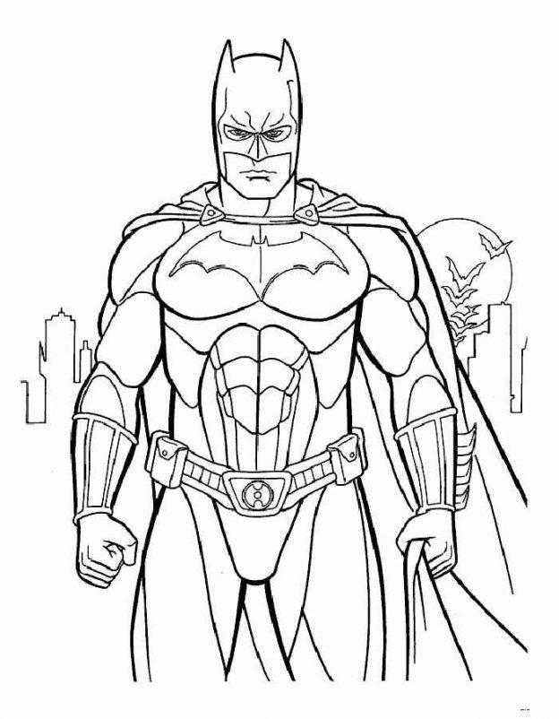 Dibujos Para Colorear Superheroes Batman