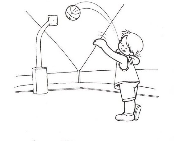Dibujos Para Pintar De Niños Bailando