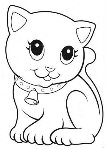 Gato Para Colorear Y Pintar