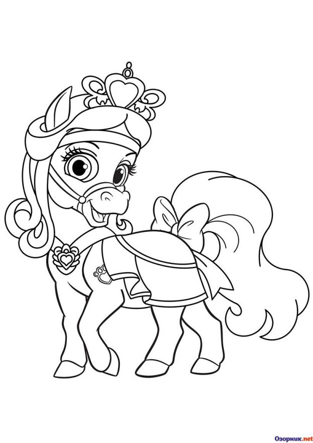 Imagenes De Mini Ponny Para Pintar
