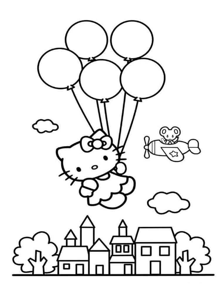 Imagenes Para Colorear De Hello Kitty